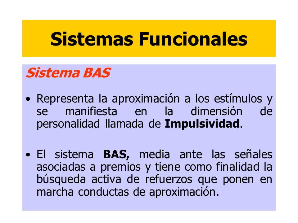 Sistemas Funcionales Sistema BAS