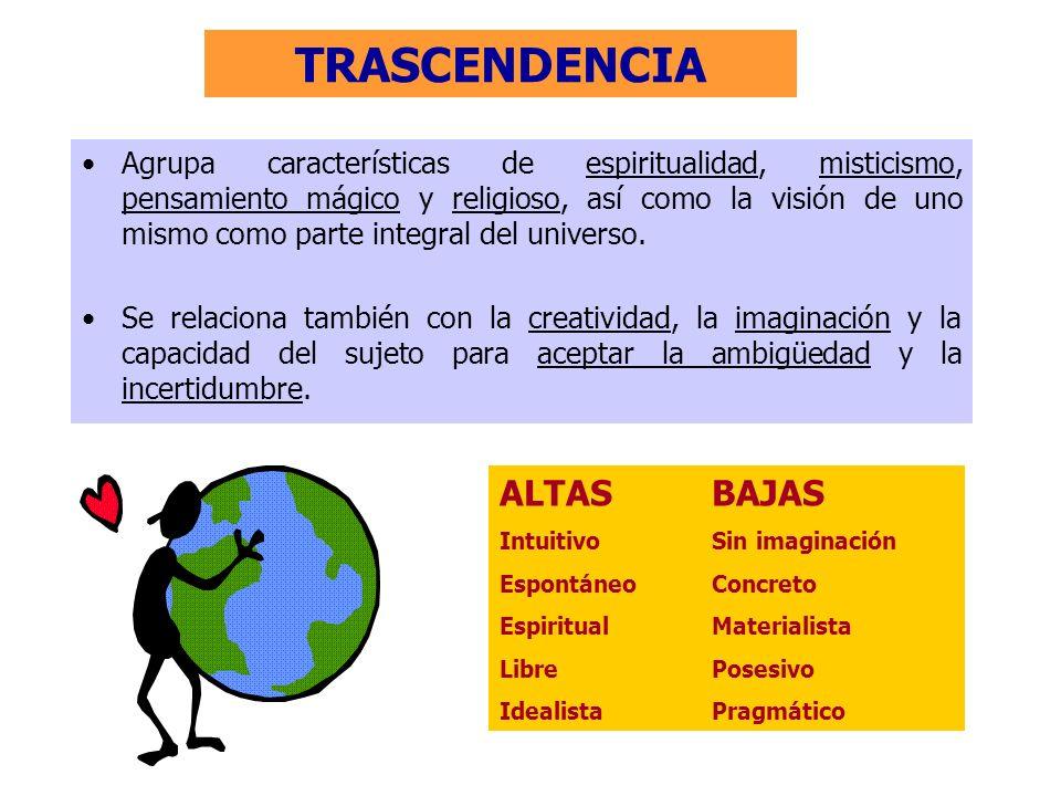 TRASCENDENCIA ALTAS BAJAS