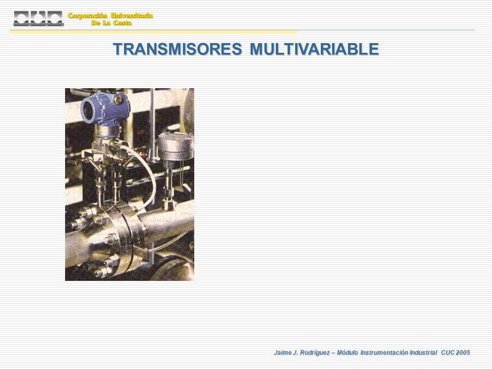 TRANSMISORES MULTIVARIABLE