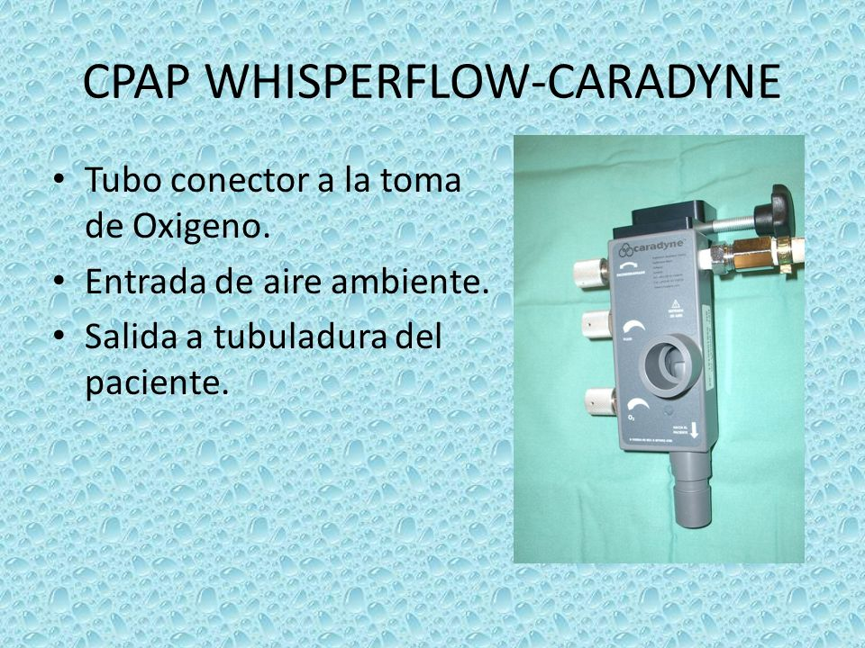 CPAP WHISPERFLOW-CARADYNE