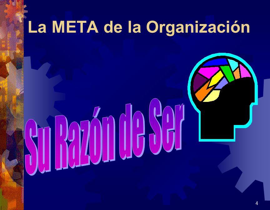 La META de la Organización