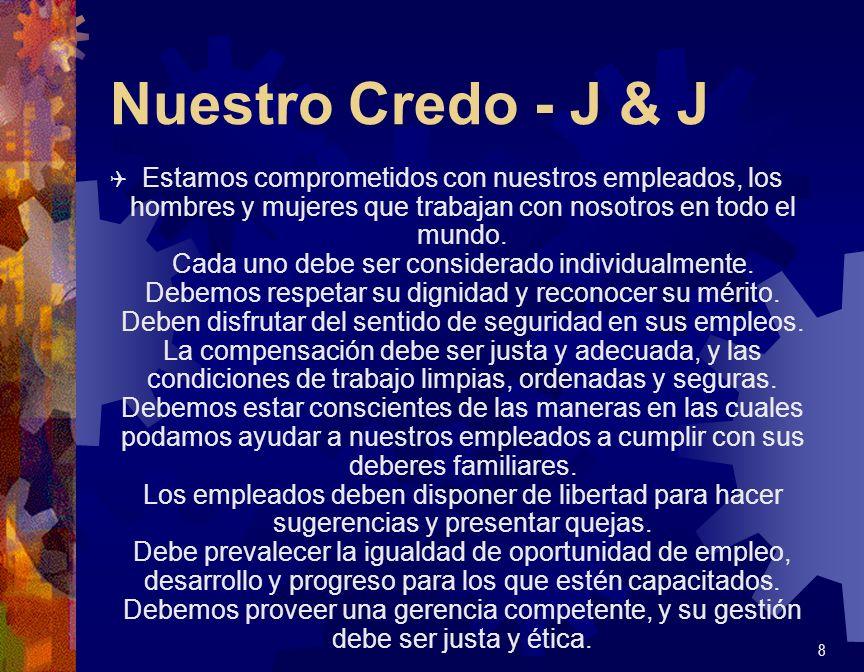 Nuestro Credo - J & J