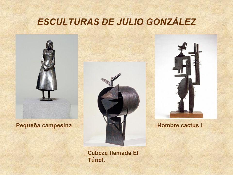 ESCULTURAS DE JULIO GONZÁLEZ