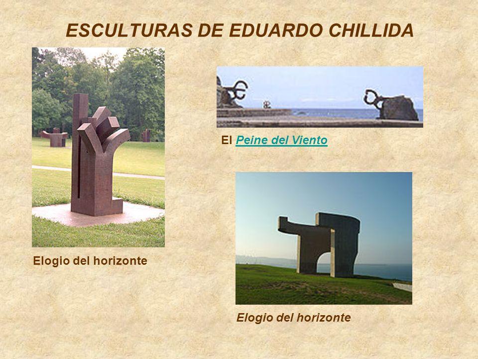 ESCULTURAS DE EDUARDO CHILLIDA