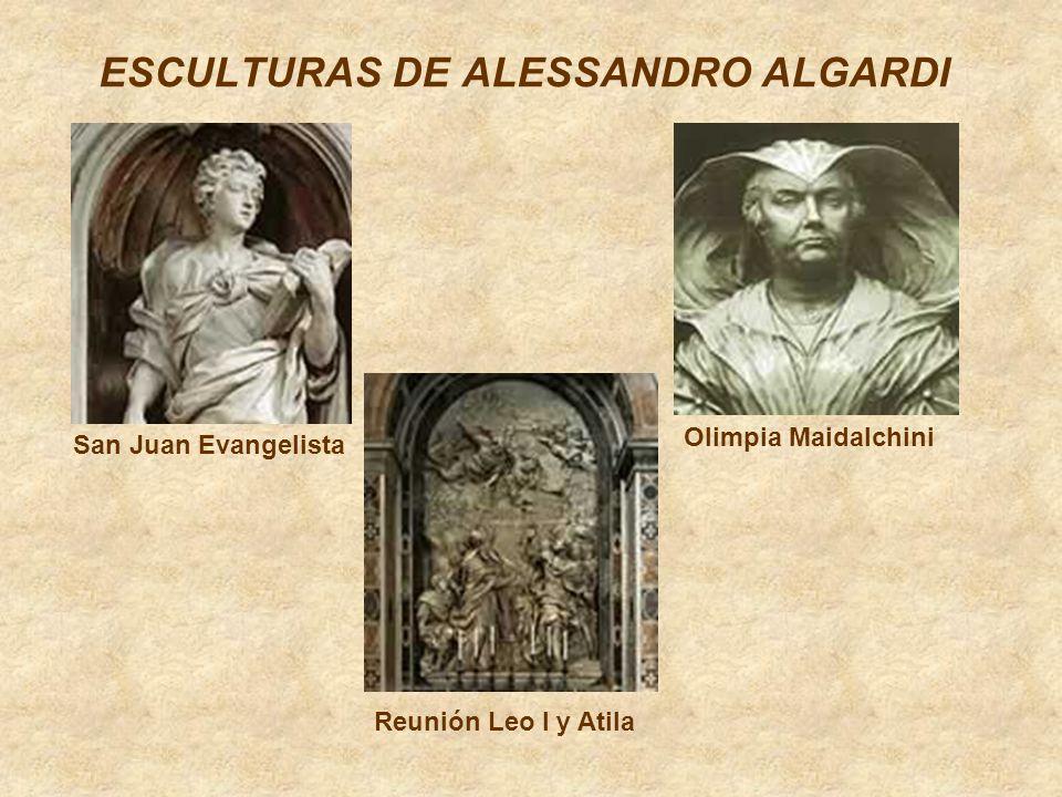 ESCULTURAS DE ALESSANDRO ALGARDI