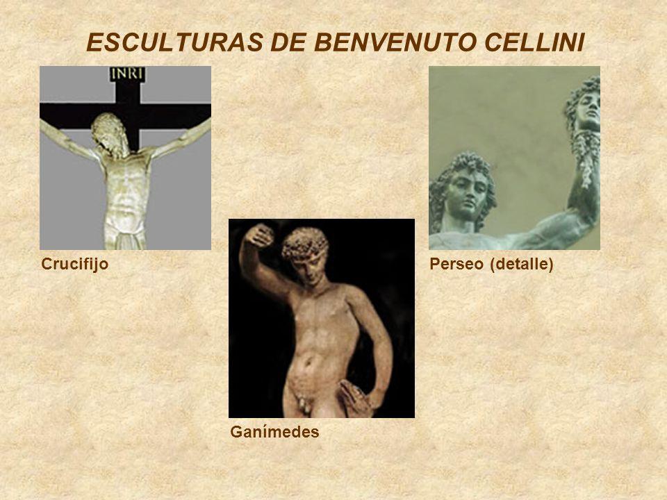 ESCULTURAS DE BENVENUTO CELLINI