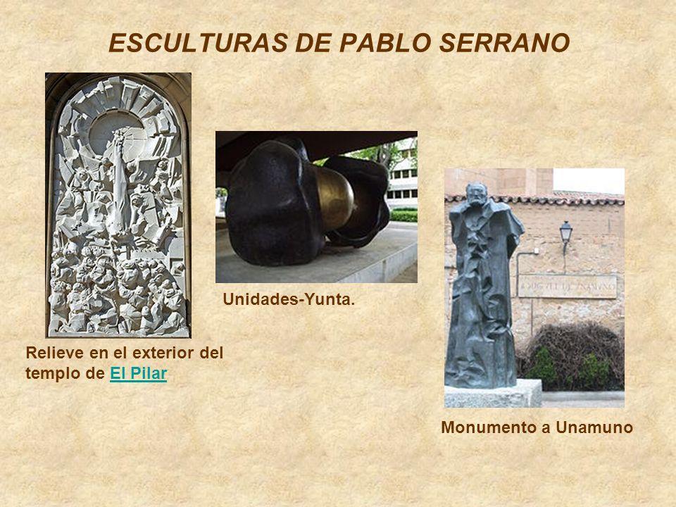 ESCULTURAS DE PABLO SERRANO