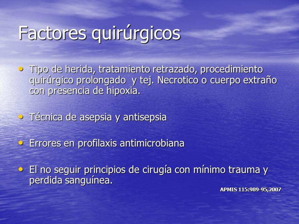 Factores quirúrgicos