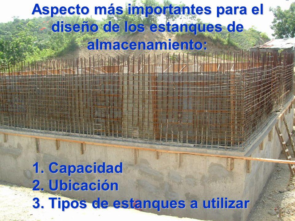 L neas de aducci n y estanques de almacenamiento ppt for Estanques online