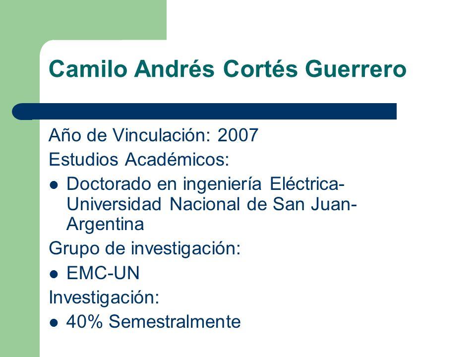Camilo Andrés Cortés Guerrero