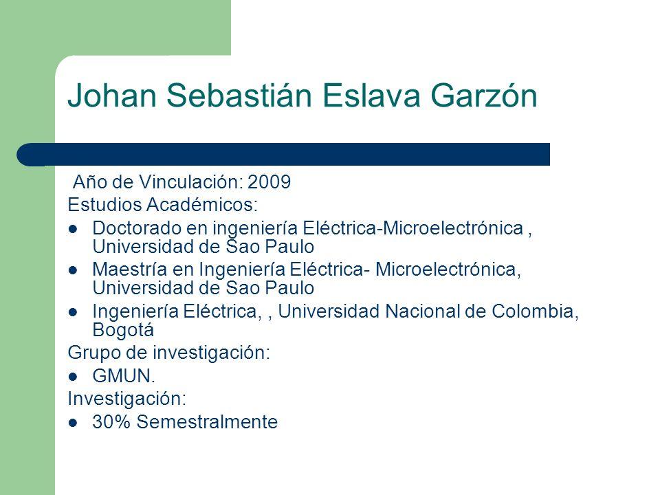 Johan Sebastián Eslava Garzón