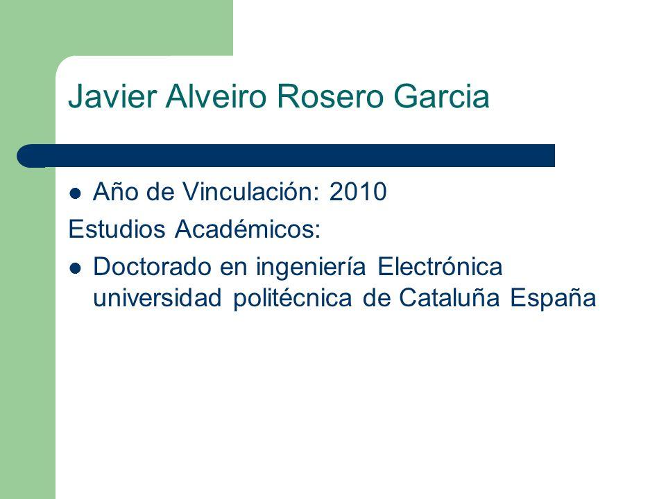 Javier Alveiro Rosero Garcia