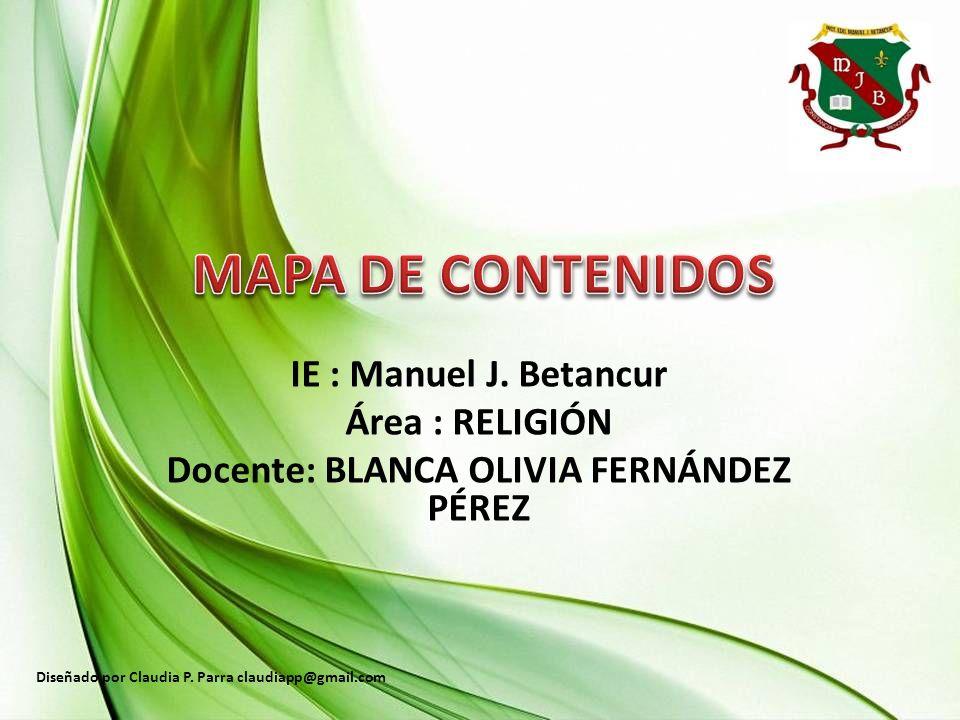 Docente: BLANCA OLIVIA FERNÁNDEZ PÉREZ
