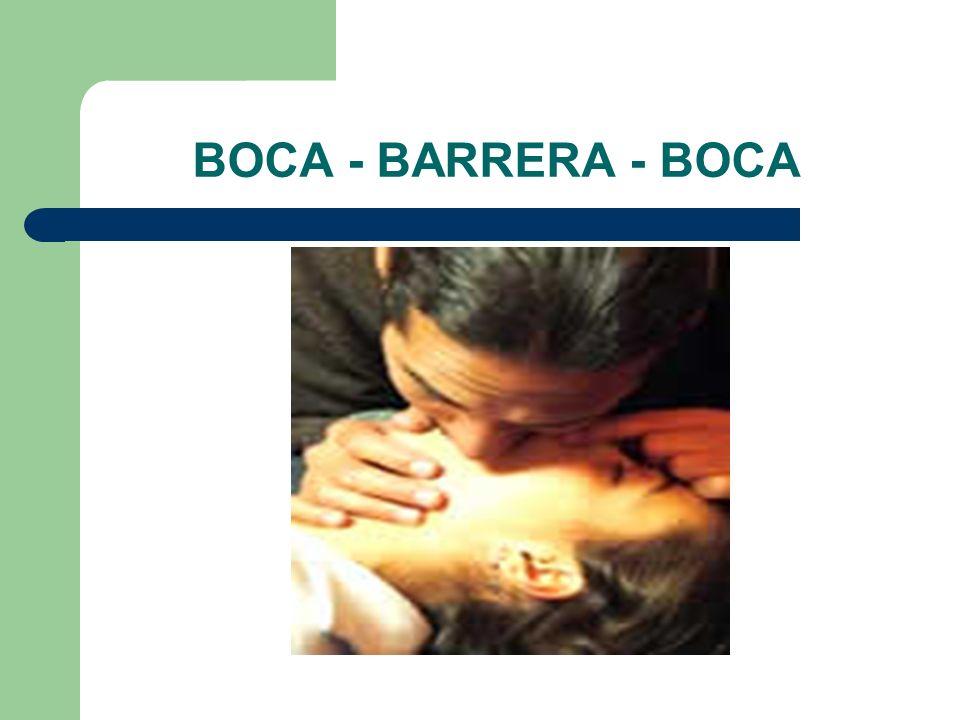 BOCA - BARRERA - BOCA
