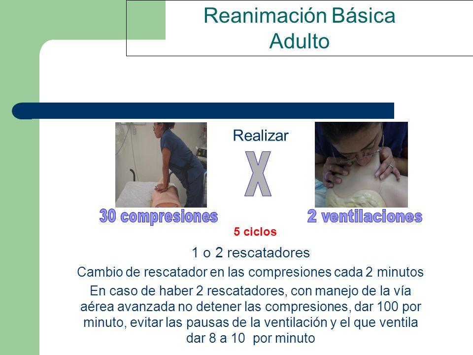 Reanimación Básica Adulto