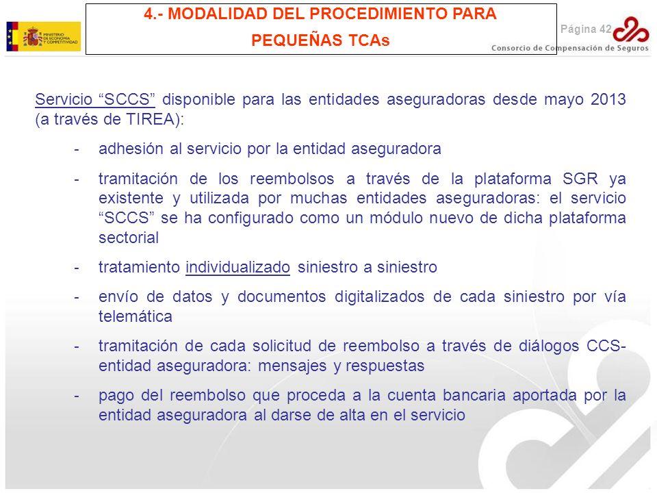 4.- MODALIDAD DEL PROCEDIMIENTO PARA