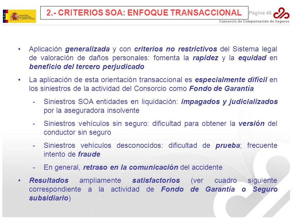 2.- CRITERIOS SOA: ENFOQUE TRANSACCIONAL