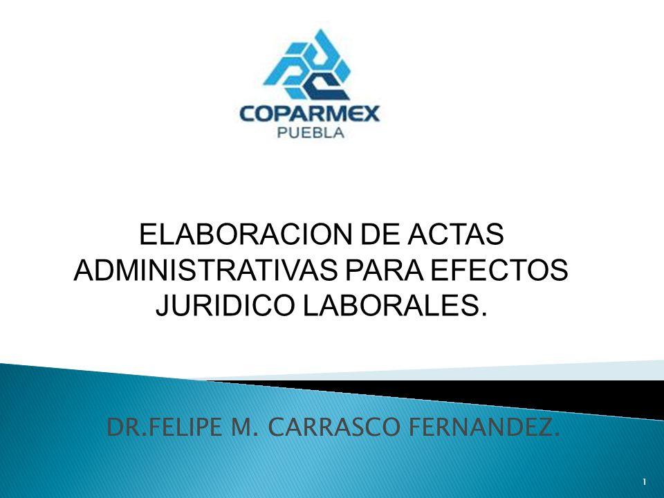 DR.FELIPE M. CARRASCO FERNANDEZ.
