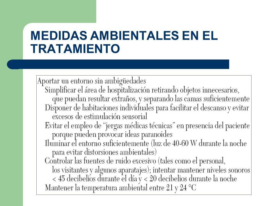 MEDIDAS AMBIENTALES EN EL TRATAMIENTO