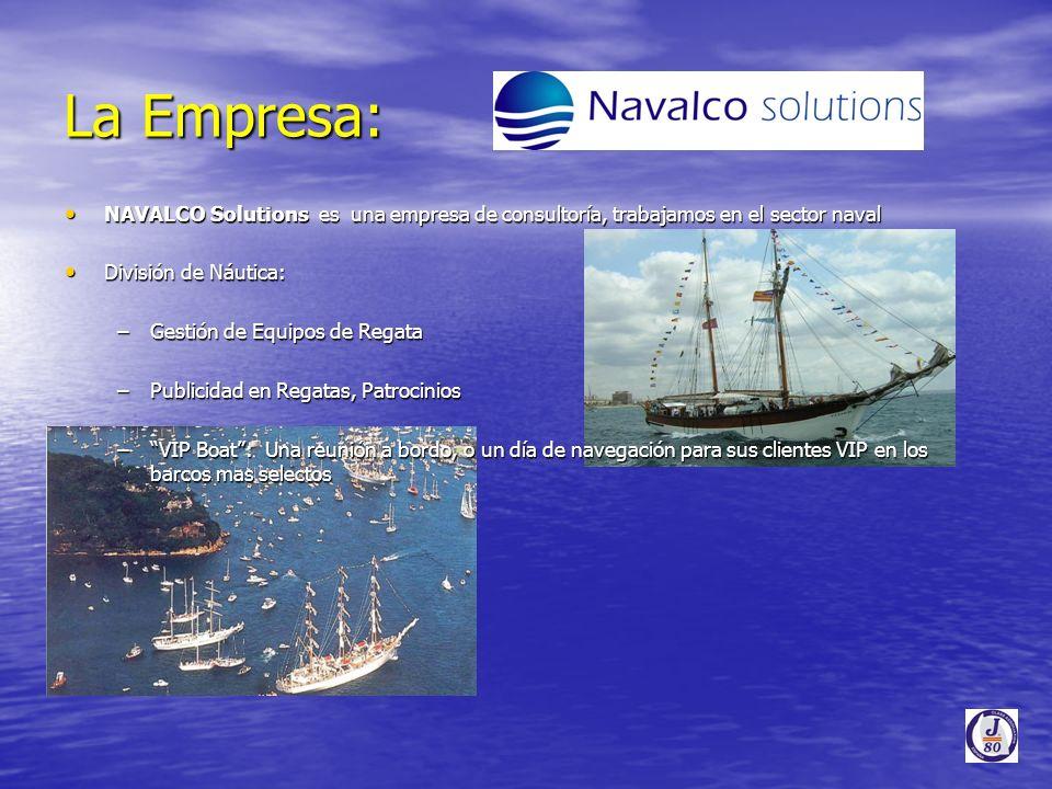 La Empresa: NAVALCO Solutions es una empresa de consultoría, trabajamos en el sector naval. División de Náutica: