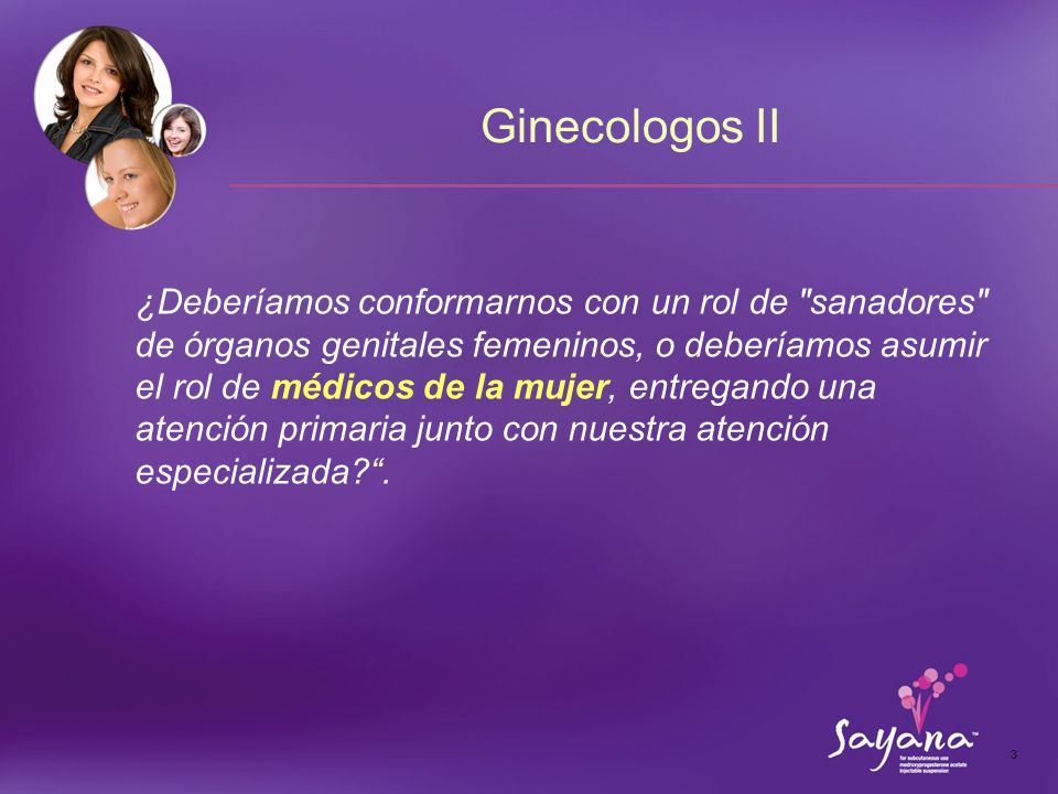Ginecologos II