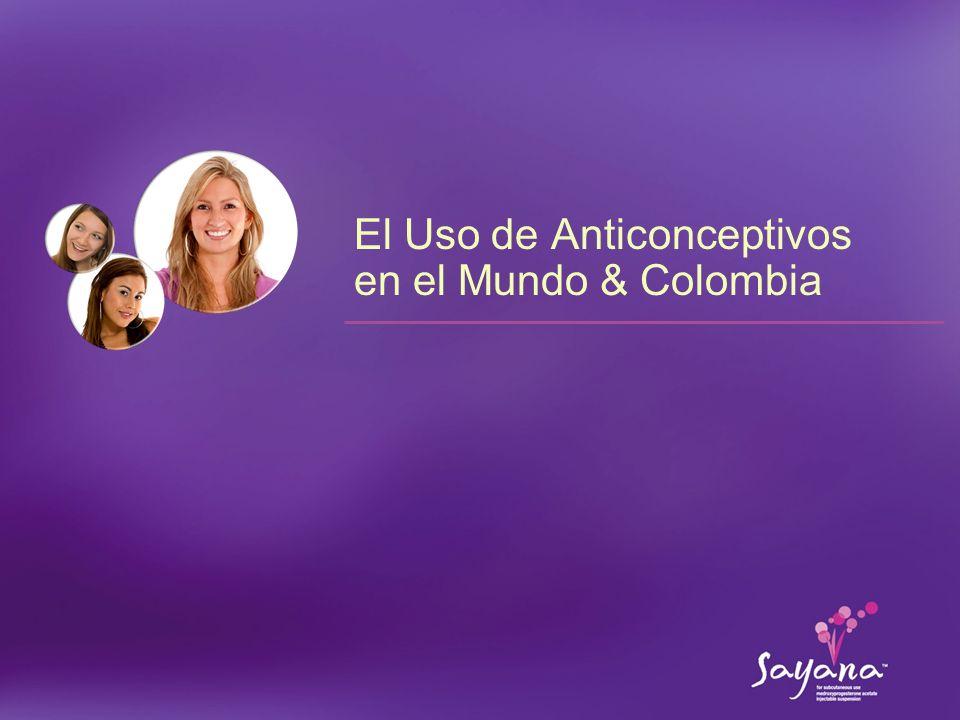 El Uso de Anticonceptivos en el Mundo & Colombia