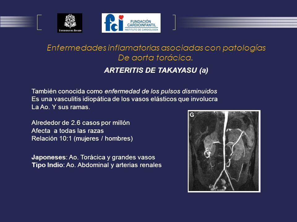 Enfermedades inflamatorias asociadas con patologías