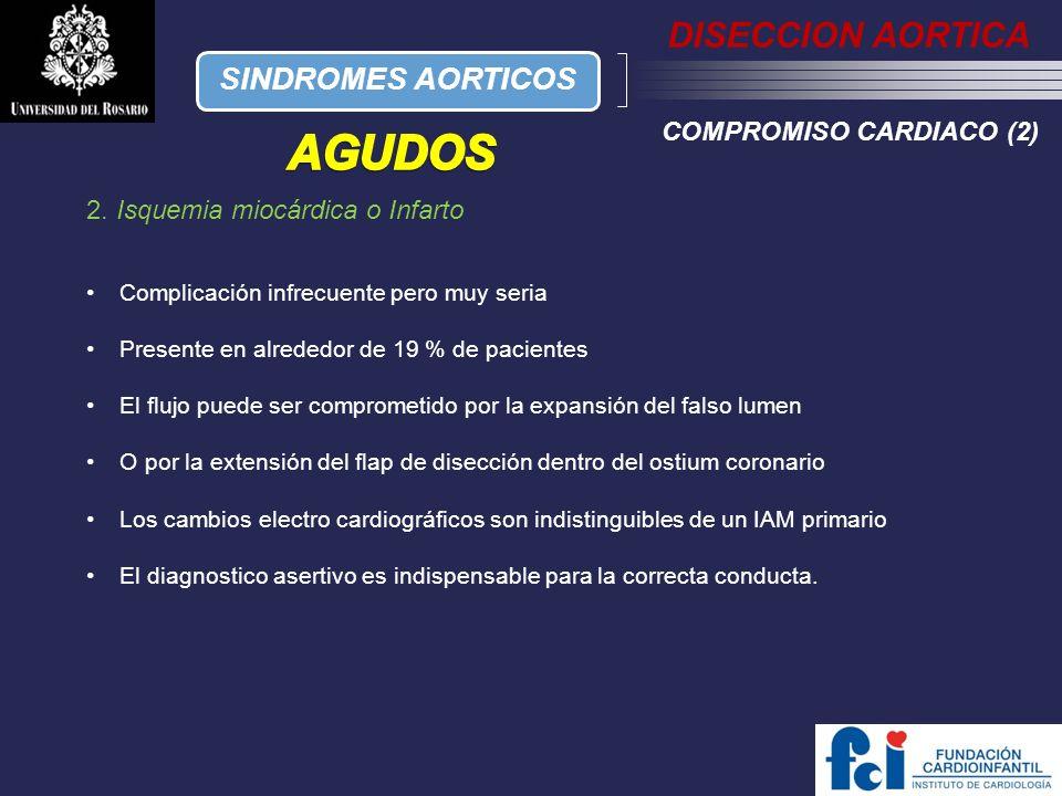 AGUDOS DISECCION AORTICA SINDROMES AORTICOS COMPROMISO CARDIACO (2)