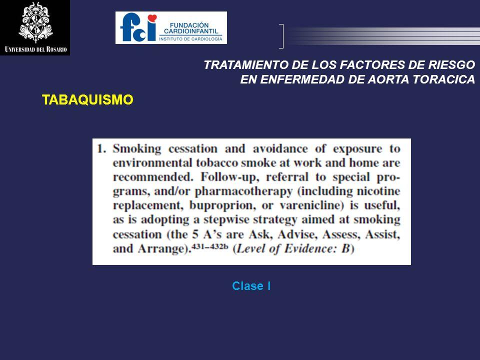 TABAQUISMO TRATAMIENTO DE LOS FACTORES DE RIESGO