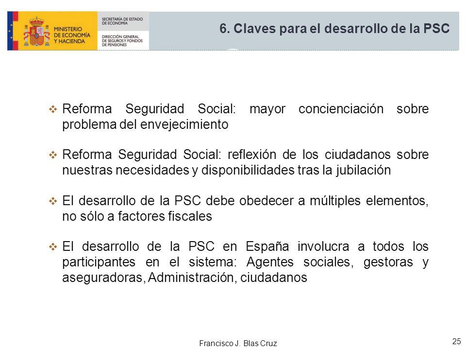 6. Claves para el desarrollo de la PSC