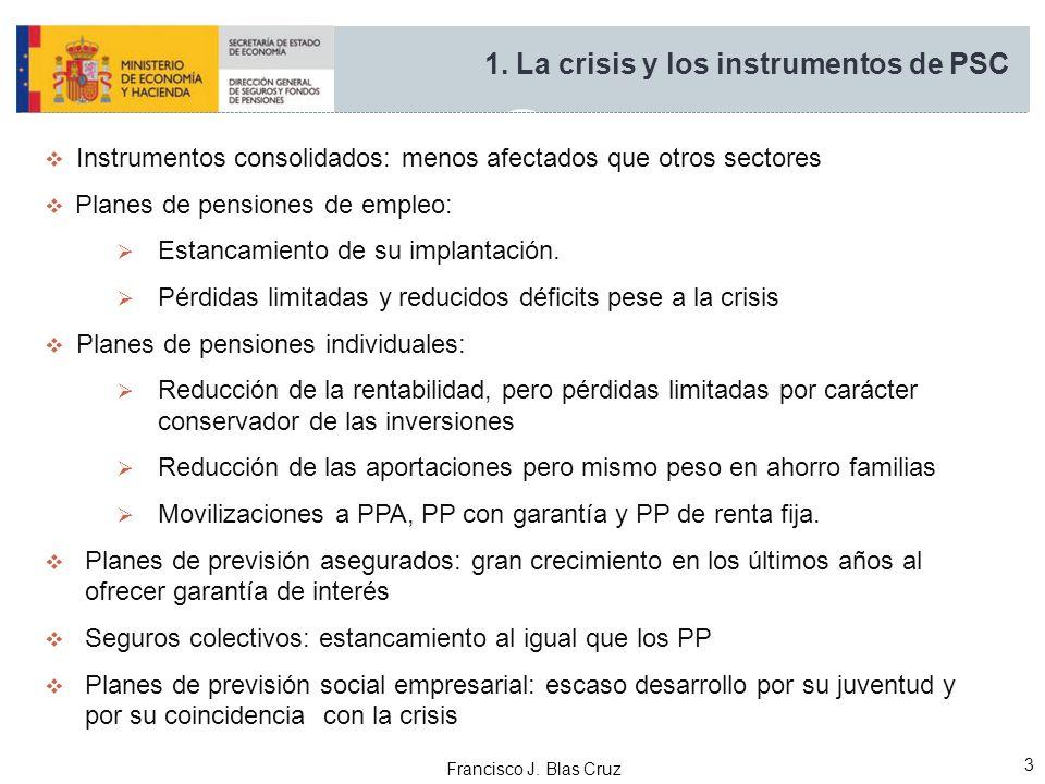 1. La crisis y los instrumentos de PSC