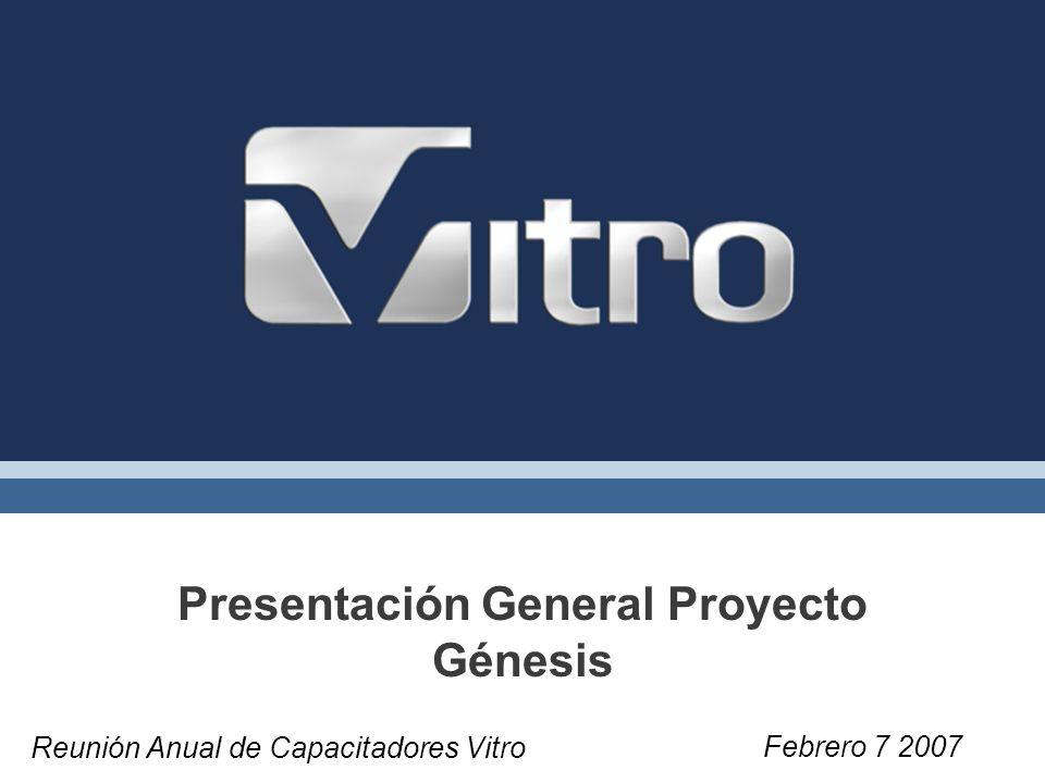 Presentación General Proyecto Génesis