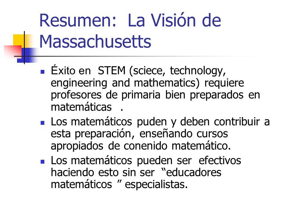 Resumen: La Visión de Massachusetts