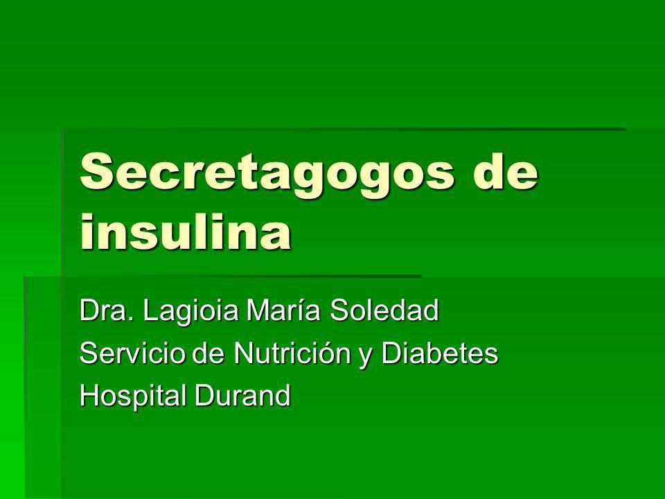 Secretagogos de insulina
