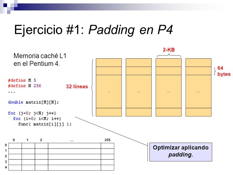Ejercicio #1: Padding en P4