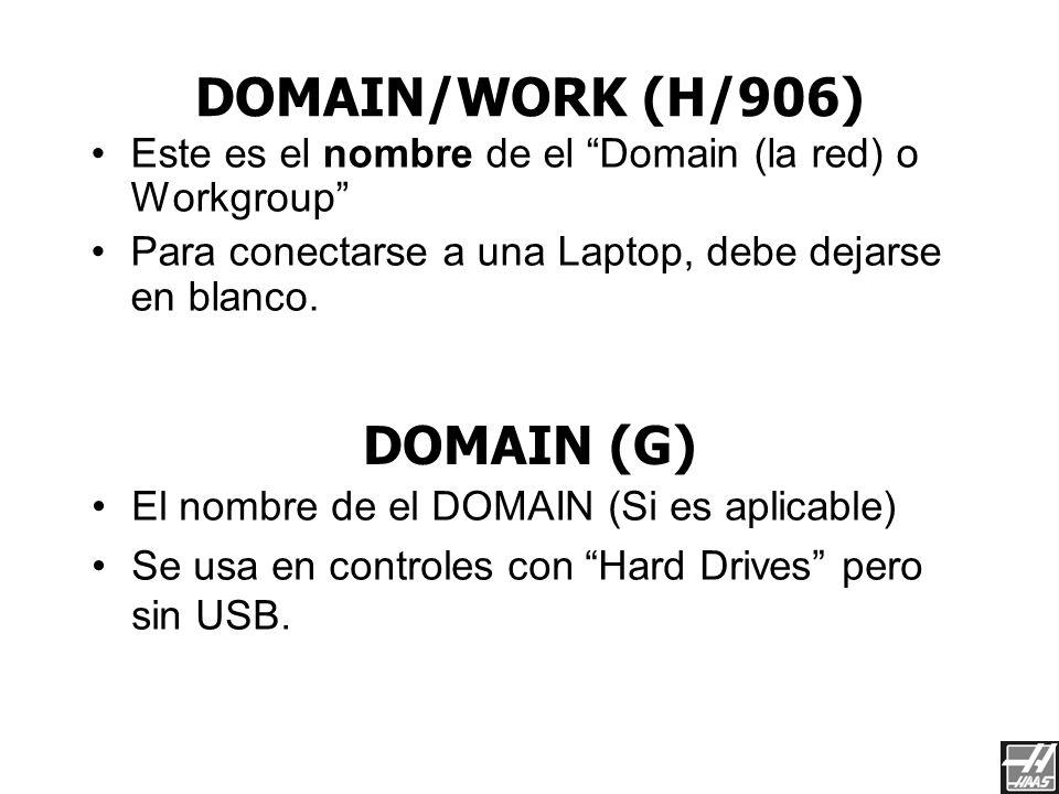 DOMAIN/WORK (H/906) DOMAIN (G)