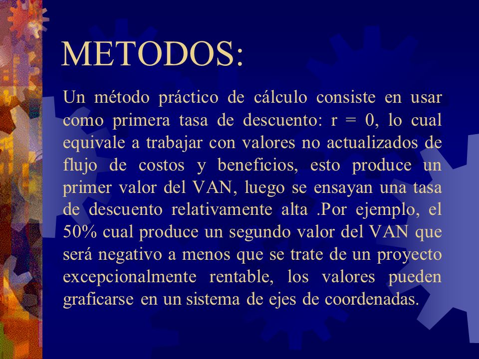 METODOS: