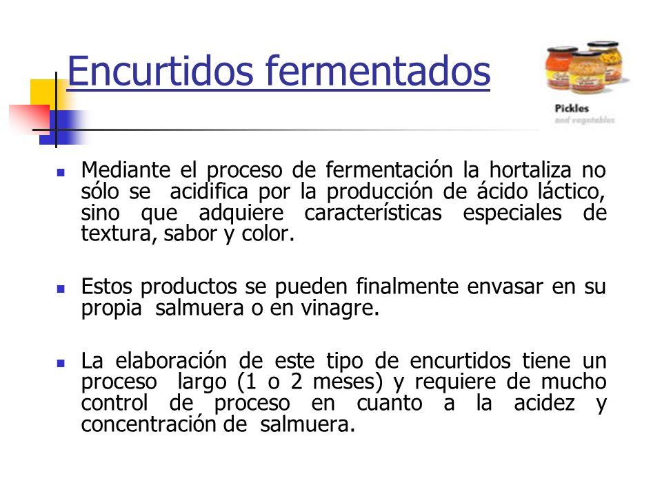 Encurtidos fermentados