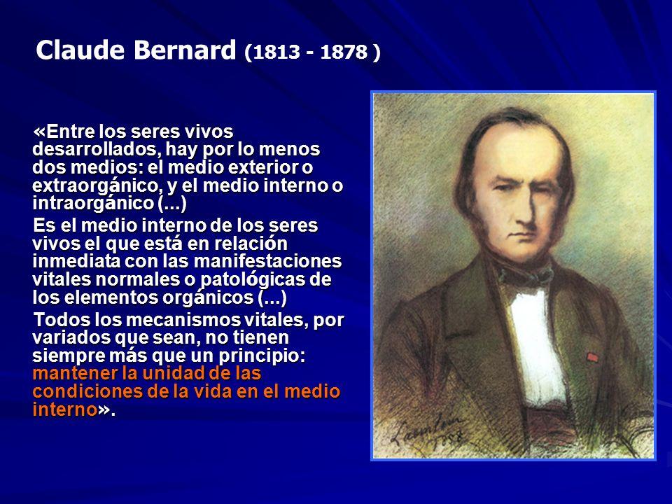 Claude Bernard (1813 - 1878 )