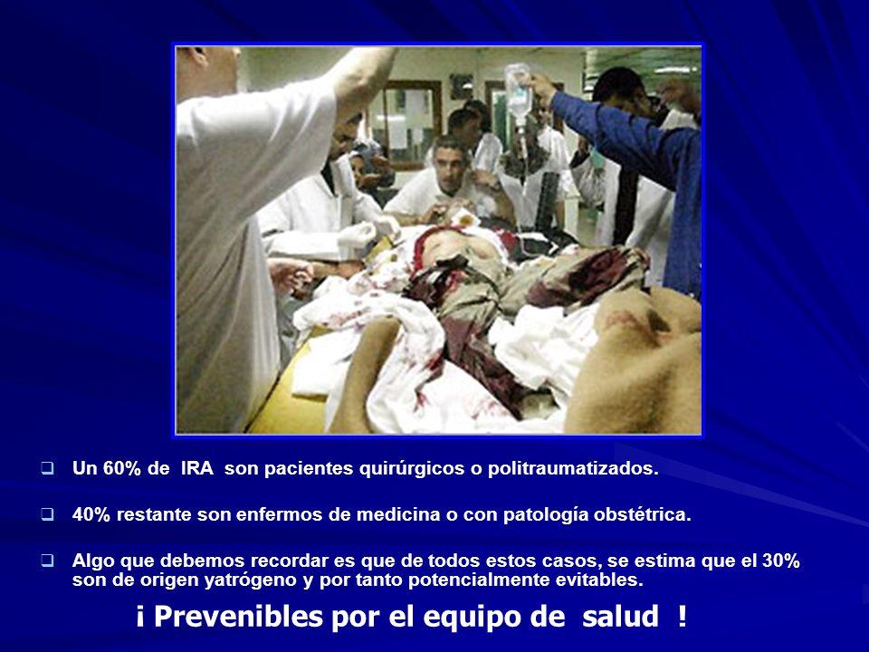 ¡ Prevenibles por el equipo de salud !