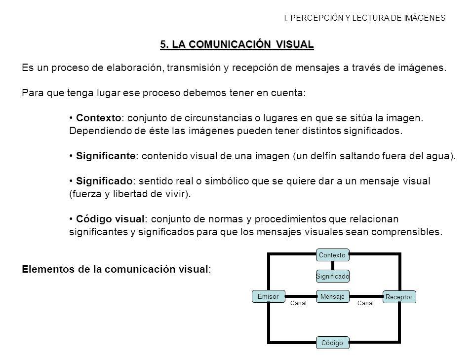 5. LA COMUNICACIÓN VISUAL