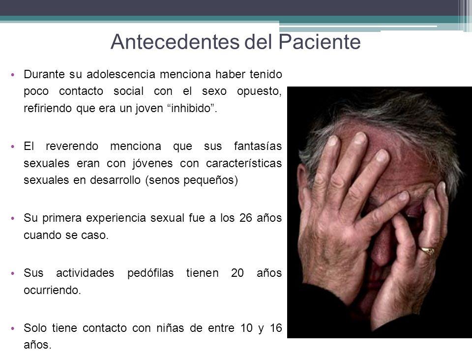 Antecedentes del Paciente