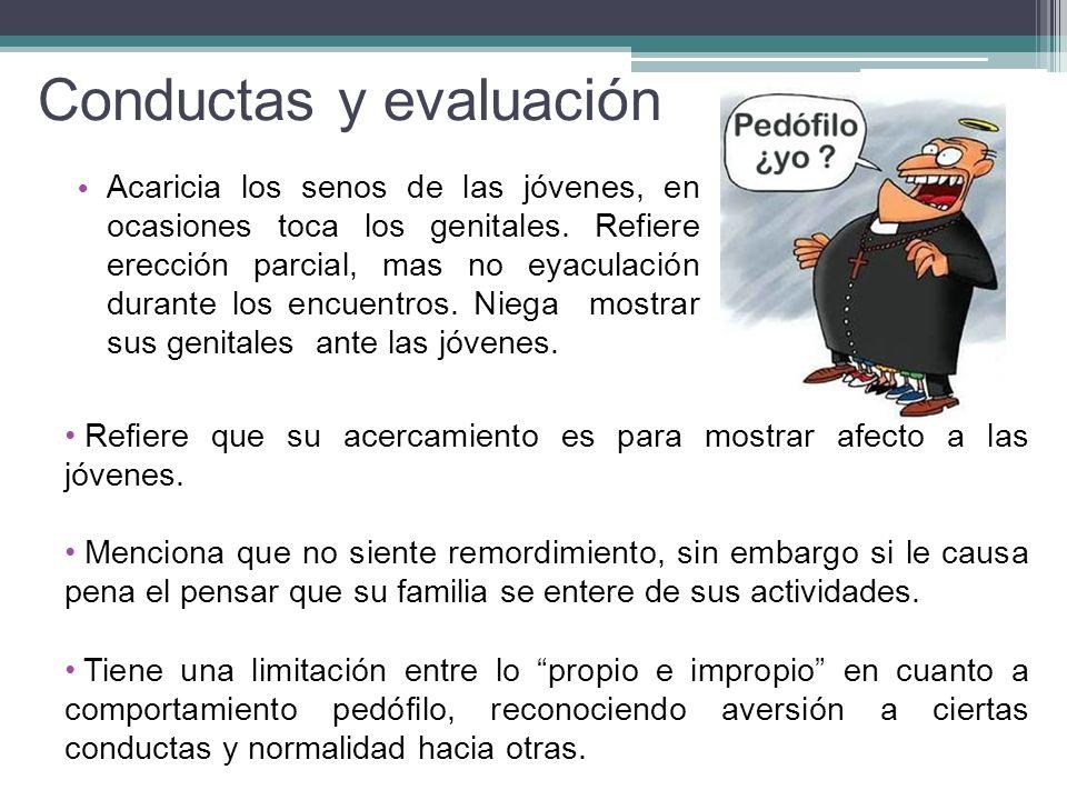 Conductas y evaluación
