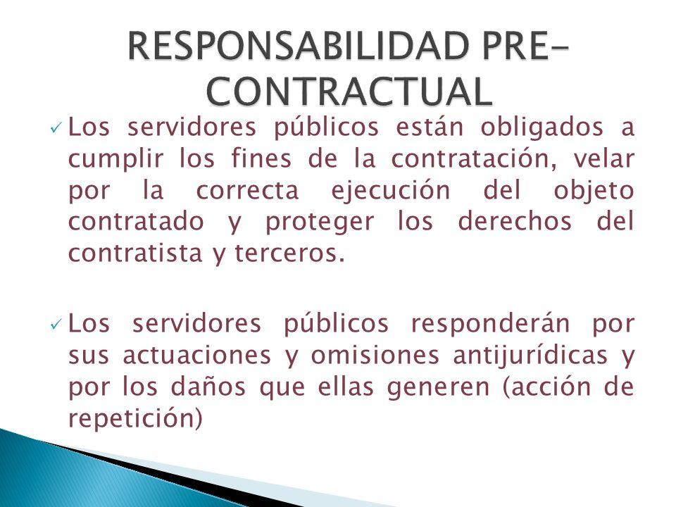RESPONSABILIDAD PRE-CONTRACTUAL