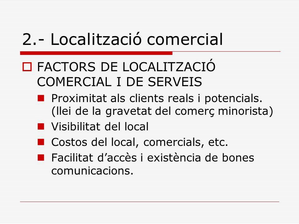 2.- Localització comercial