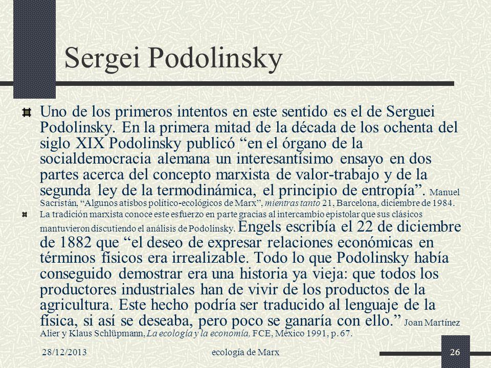 Sergei Podolinsky