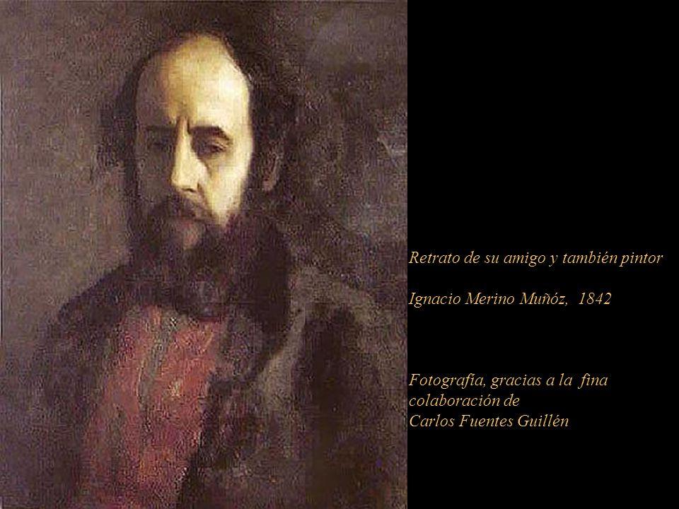Retrato de su amigo y también pintor