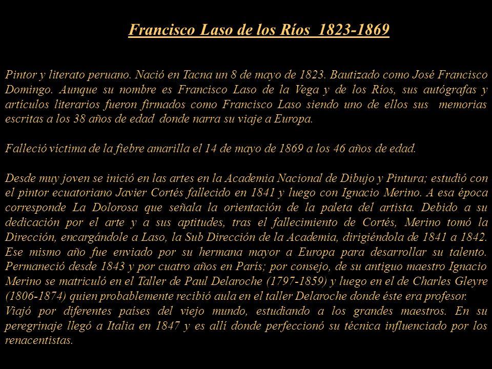 Francisco Laso de los Ríos 1823-1869