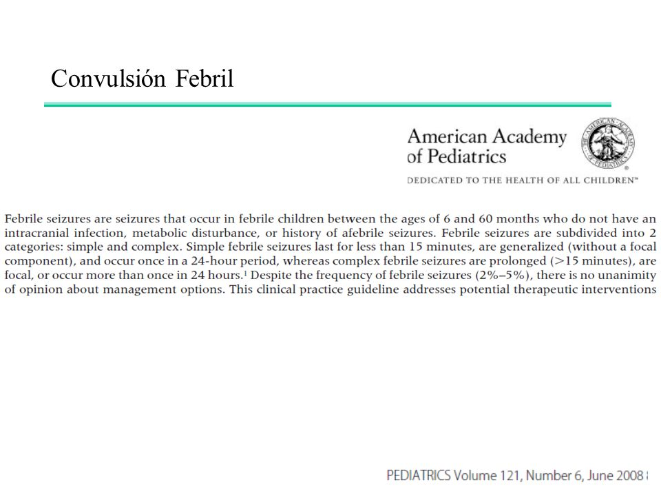 Convulsión Febril