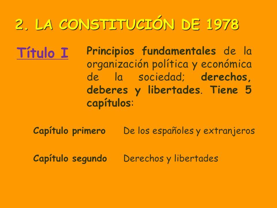 2. LA CONSTITUCIÓN DE 1978 Título I